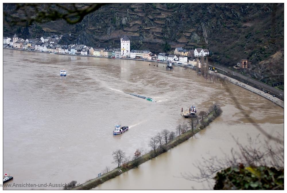 Die Loreley Und Der Katastrophentourismus Ansichten Und